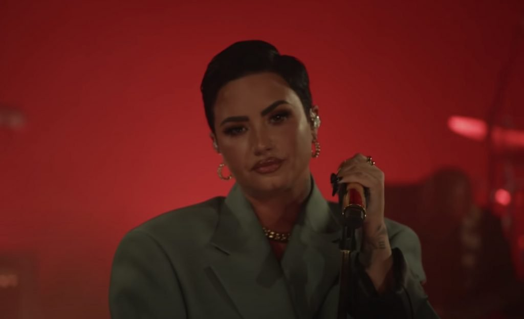Demi Lovato Performs 'Dancing With the Devil,' One Word Songs on 'Fallon'