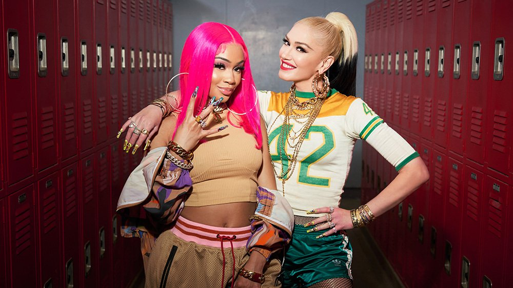 Saweetie and Gwen Stefani Team on New Version of 'Slow Clap'