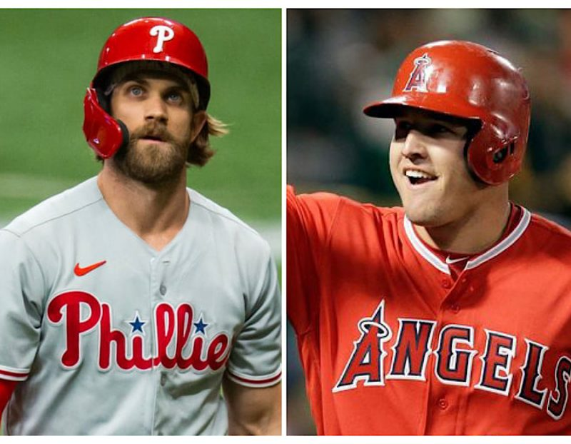 Bryce Harper Mike Trout