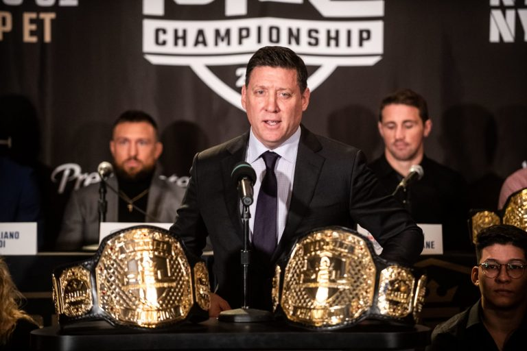 What are the rules for the Professional Fighters League?