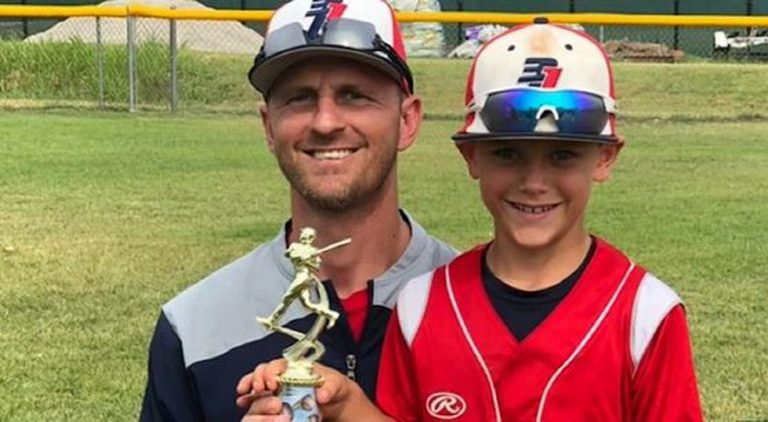 Wichita 8-year-old inspires many in memorable game following dad's death