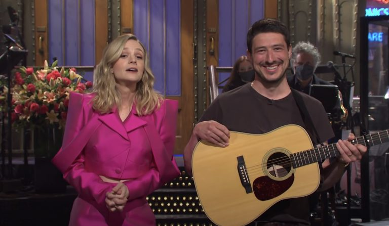Watch Marcus Mumford Crash Carey Mulligan's 'SNL' Monologue