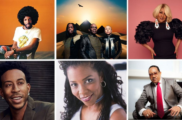 Sly Stone, Earth, Wind & Fire, Darlene Love, Ludacris, Patrice Rushen and Dr. Bobby Jones