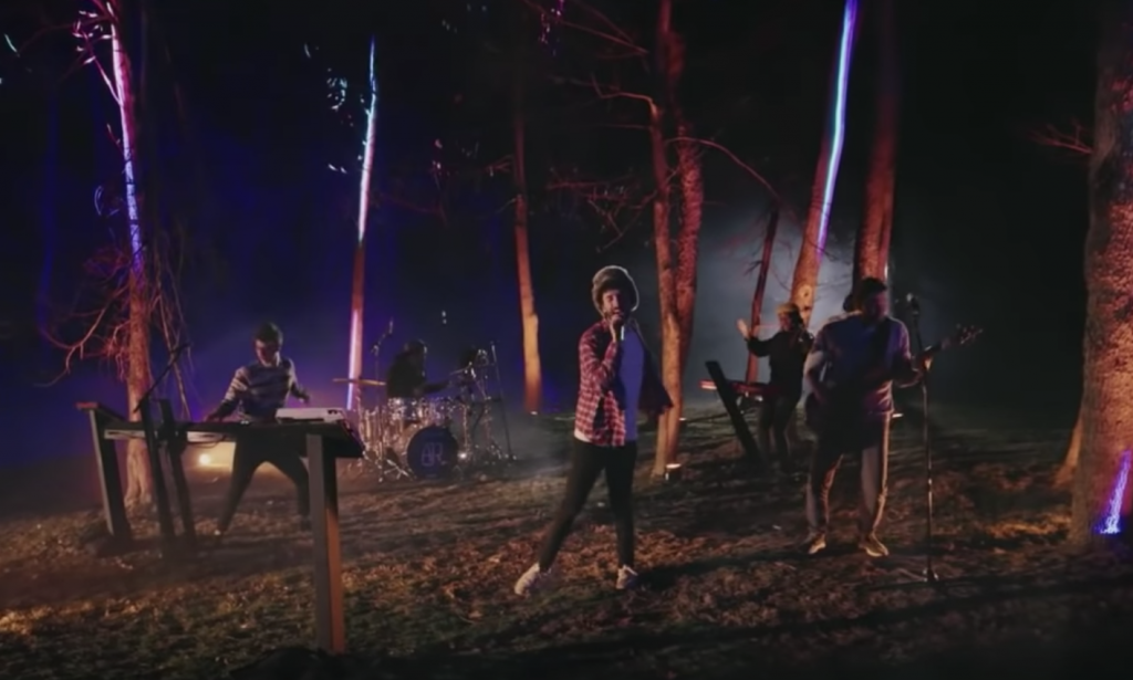 AJR Perform 'Way Less Sad' in the Woods on 'Kimmel'