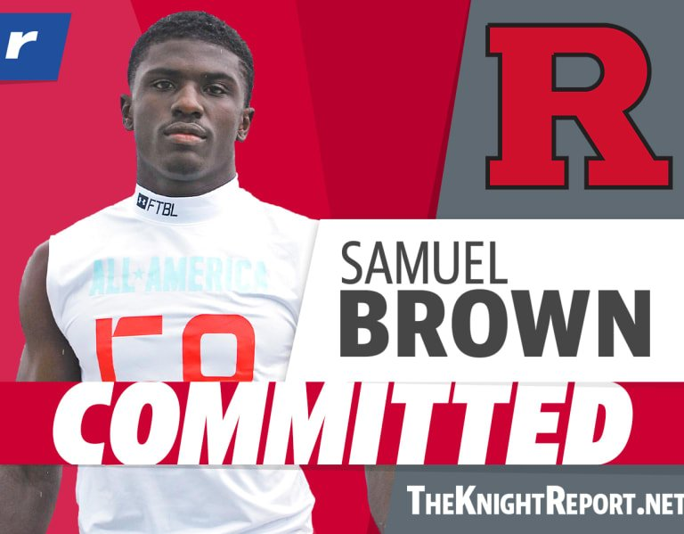 Four-star RB Samuel Brown breaks down his commitment to Rutgers