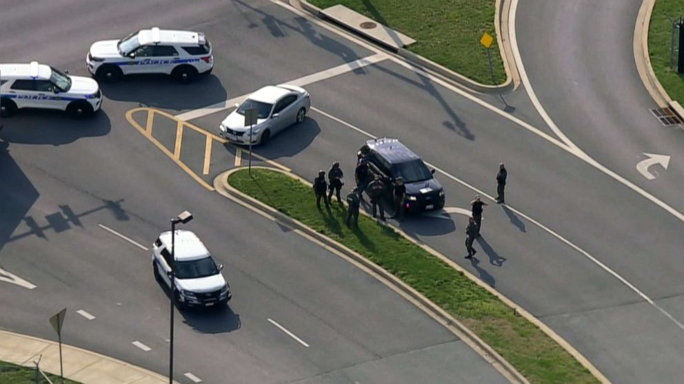 2 injured in Maryland shooting, suspect is 'down': Police