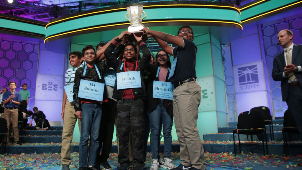 National Spelling Bee Adds New Rules To Help Winners Sting The Competition : NPR
