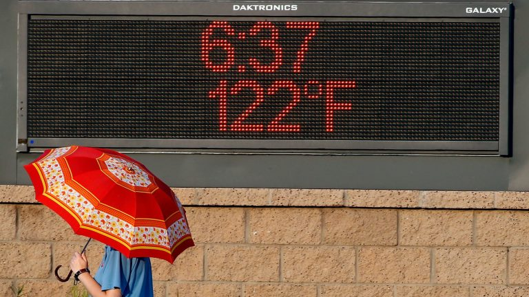 Climate Change Makes A Hotter Normal For Weather Forecasters : NPR