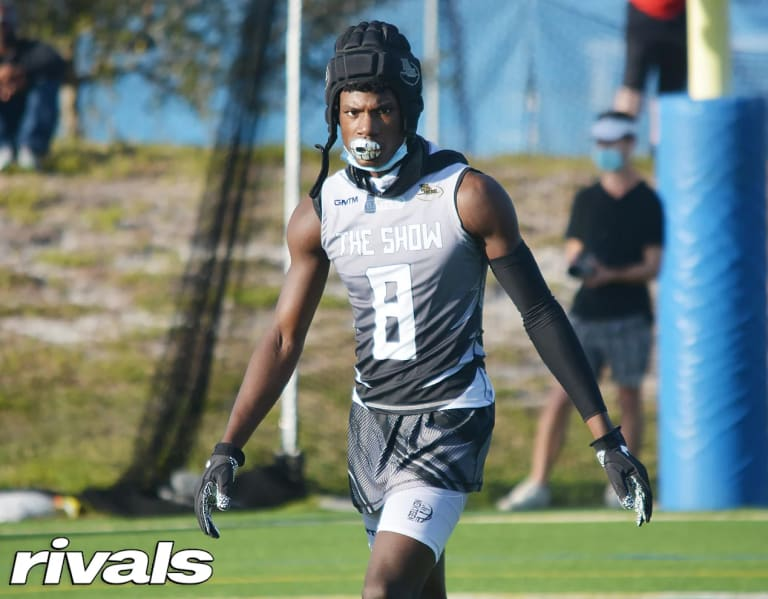 Four-star WR Gregory Gaines back from FSU spring game