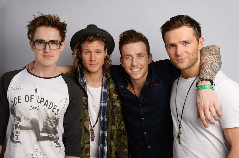 McFly photographed in London
