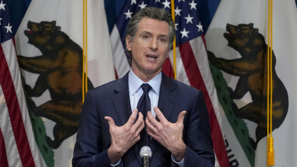 Effort To Remove Calif. Gov. Newsom Collects Enough Signatures To Force Recall Vote : NPR