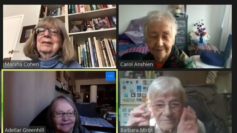 Seniors Talk About Their New Life On Zoom : NPR