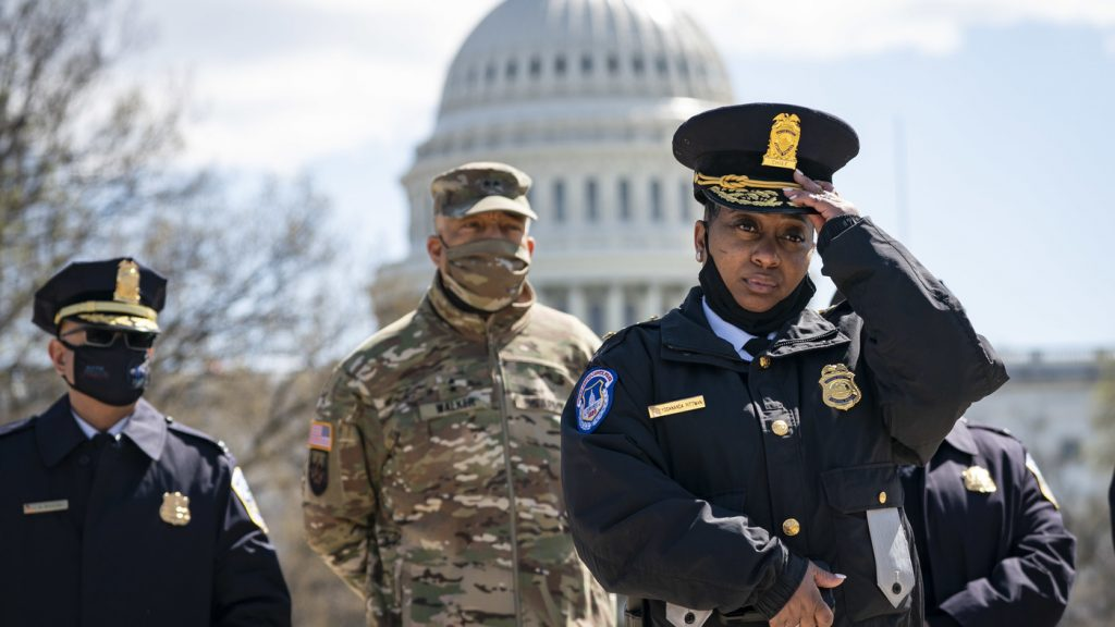 1 U.S. Capitol Police Officer Killed, 1 Injured In Attack At Capitol Checkpoint : NPR