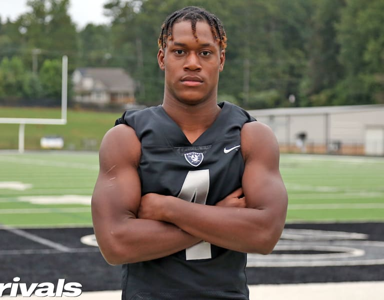 Three official visits locked in for four-star RB Justin Williams