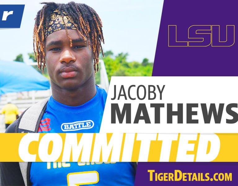 Five-star DB Jacoby Mathews to LSU: 'A lot of emotion went into it'