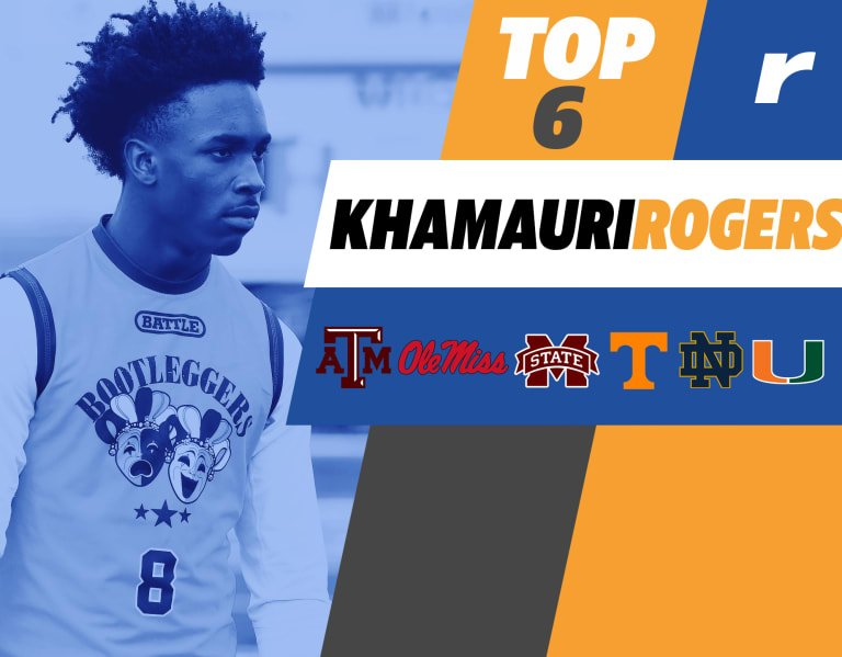 Rivals100 CB Khamauri Rogers trims his contenders down to six