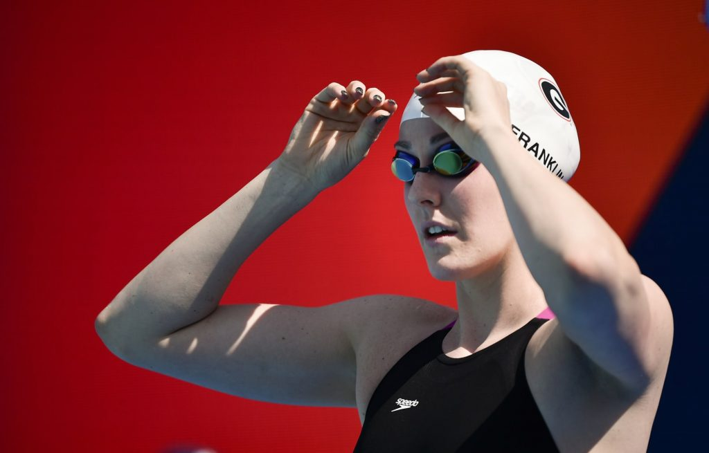 Missy Franklin rooting on Team USA as she fulfills dream of being a mom