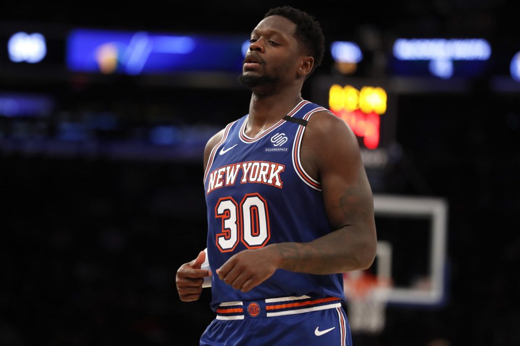 Julius Randle has perfect reaction to Knicks Game 1 loss to Hawks