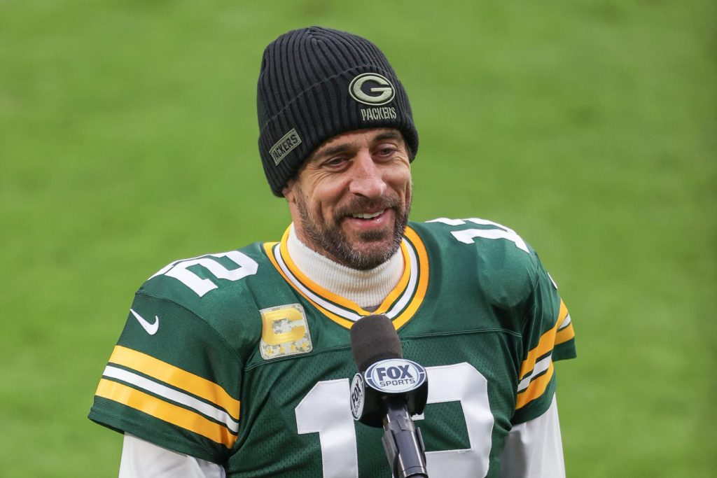 Aaron Rodgers breaks silence on Packers drama at Kentucky Derby