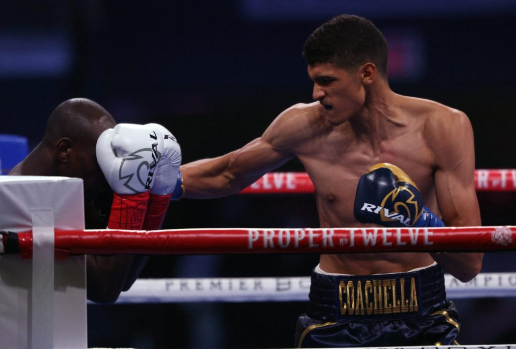 Sebastian Fundora and his increasing power as a super welterweight