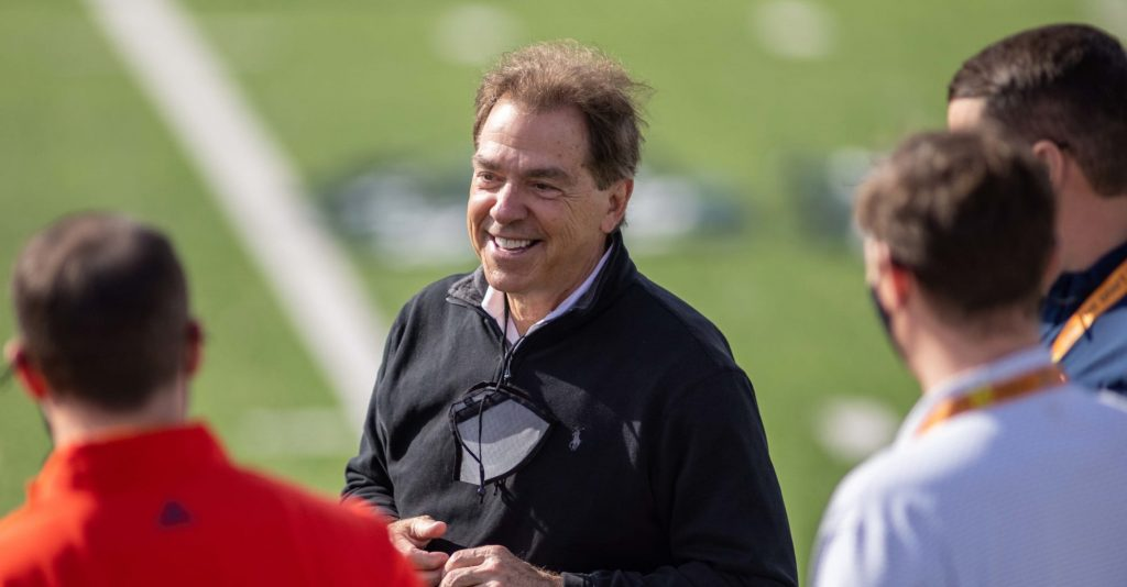 NIck Saban urges people to get COVID-19 vaccine in new PSA