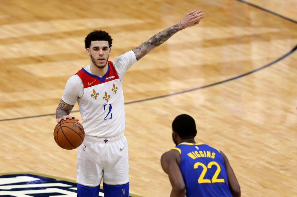 Lonzo Ball called his bounce-back performance against the Warriors