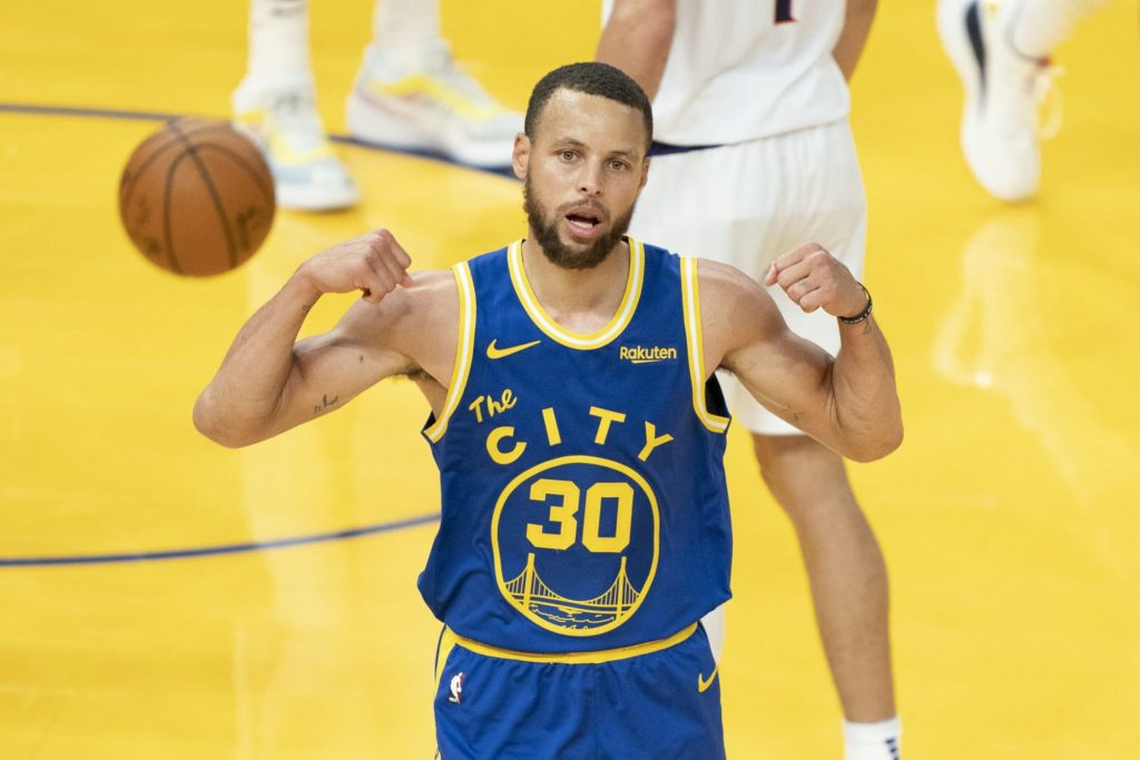 Steph Curry joins Michael Jordan in record books with 2020-21 scoring title