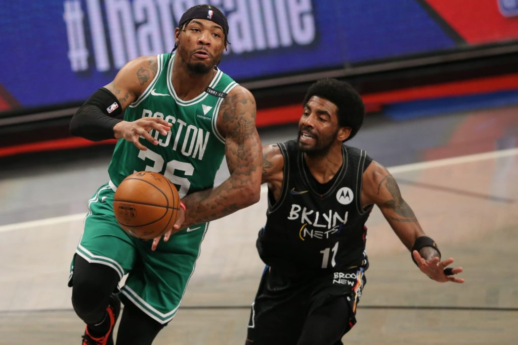 Marcus Smart backs up Kyrie Irving on racist comments from Celtics' fans