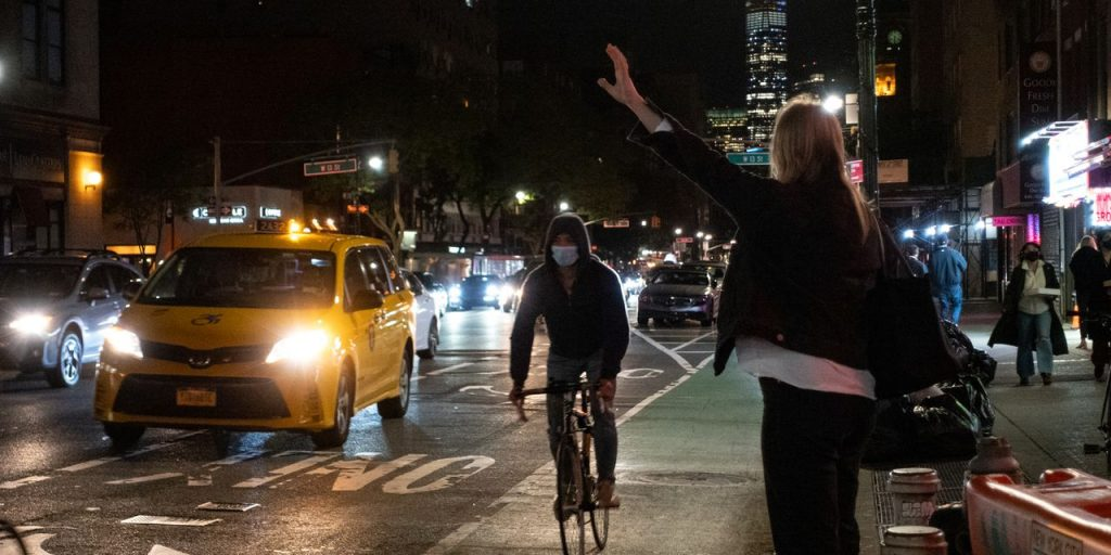 New York City Taxis Roll Back Into Town