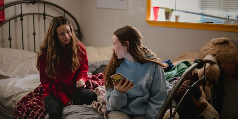 Twin Sisters Lean on Each Other to Survive a Year of Remote Learning