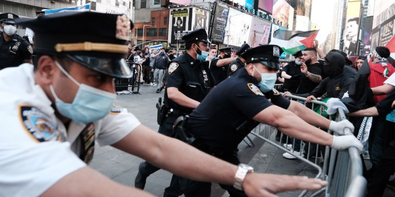 New York Police Investigate Beating of Jewish Man During Pro-Palestinian March