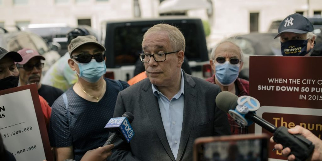 Scott Stringer Says He Is 'the Comeback Kid' in New York City's Mayoral Race