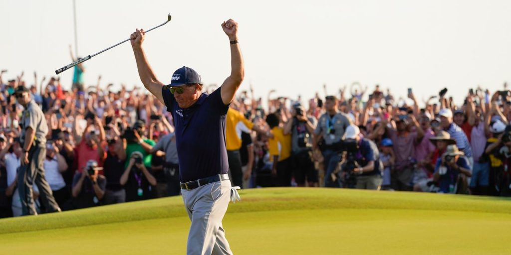 Phil Mickelson Wins the PGA Championship and Becomes the Oldest Major Champion