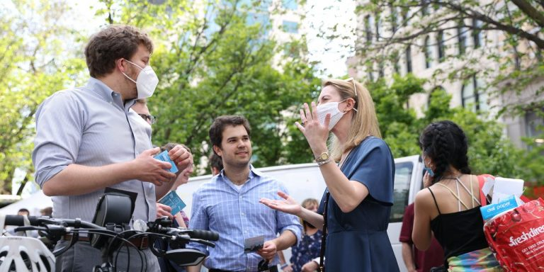 Lucy Lang Vies for Progressive Mantle in Manhattan District Attorney Race
