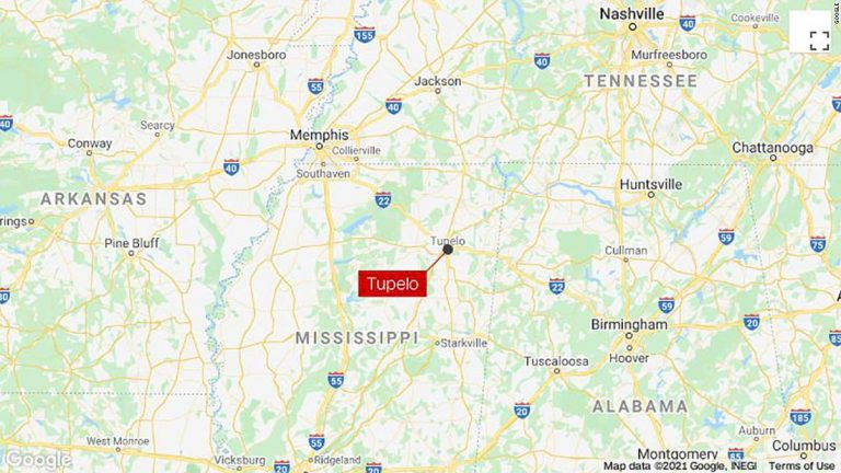 Tupelo tornado: A large and destructive tornado has touched down in Tupelo, Mississippi