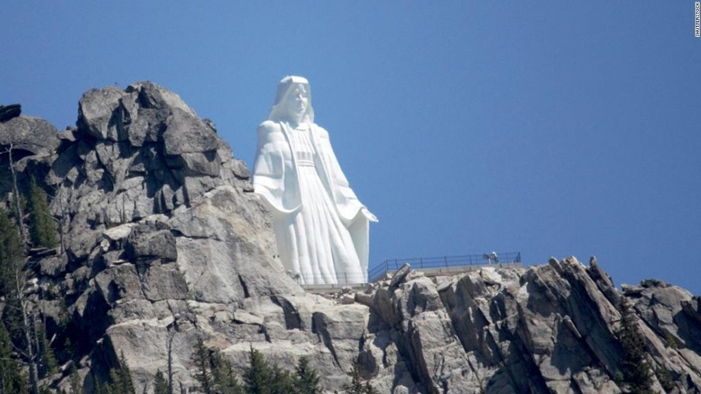 The 4th-largest statue in the United States is a shrine to every mother's love