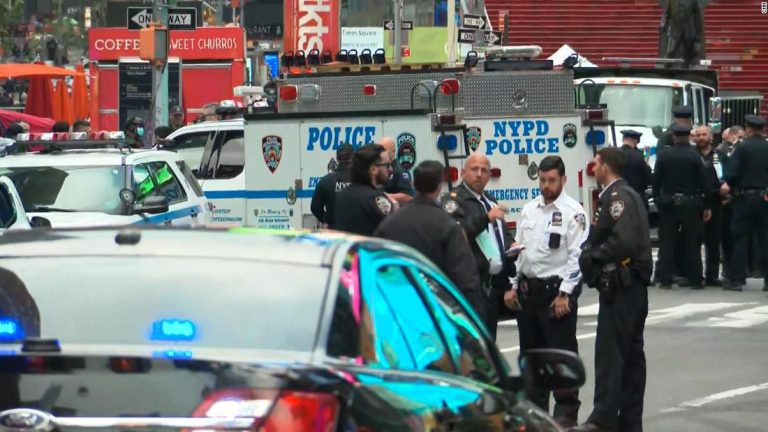 Times Square shooting: 2 women, 4-year-old girl wounded, NYPD says