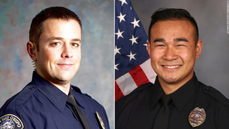 Two California police officers were killed in a 24-hour span, officials say