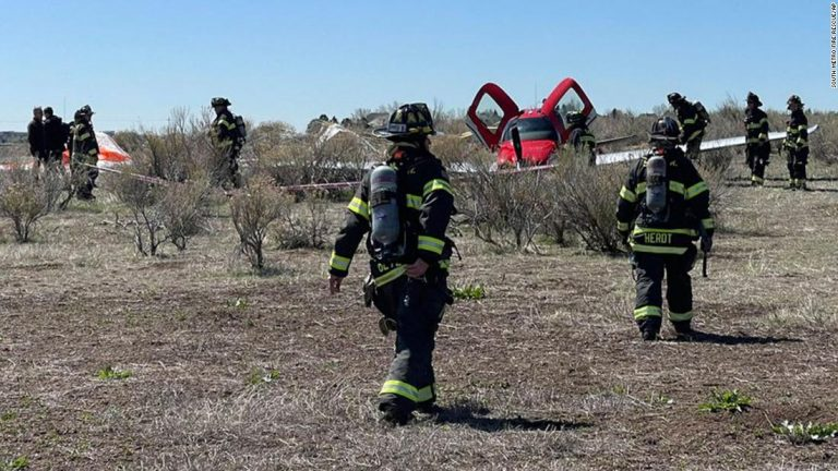 Colorado plane collision: Two small planes hit each other midair and one landed safely after deploying a parachute
