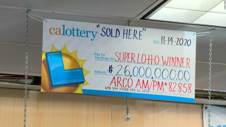 A $26 million California lottery jackpot goes unclaimed. Winning ticket may have been washed with laundry