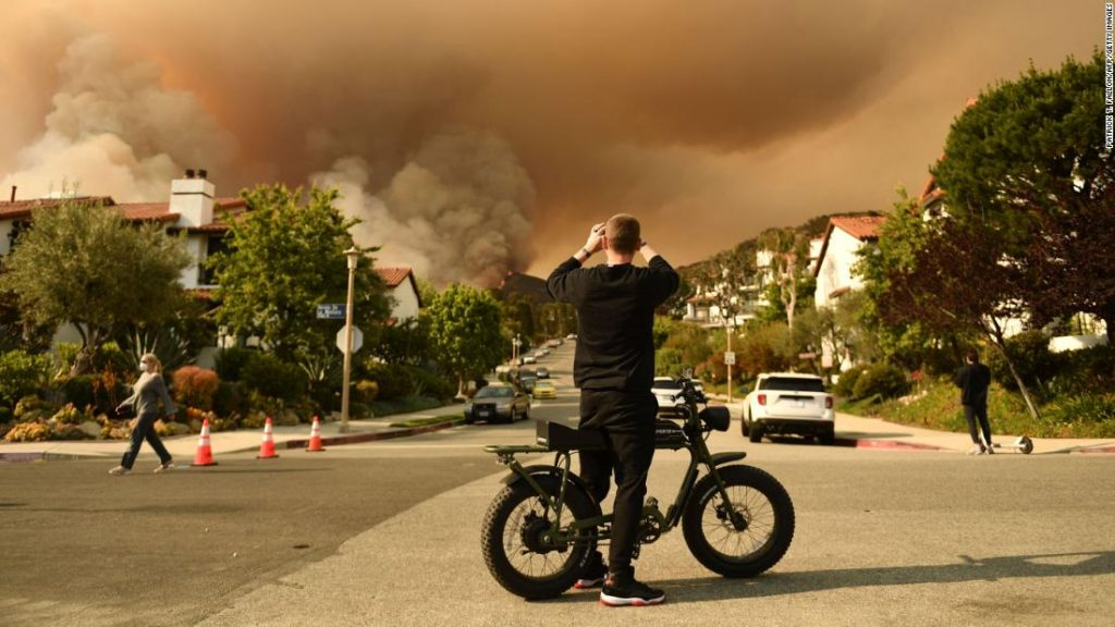 Mandatory wildfire evacuations are ordered for parts of western LA County