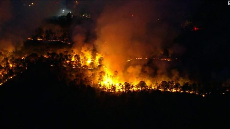 New Jersey forest fire has torched about 900 acres and counting near Little Egg Harbor Township