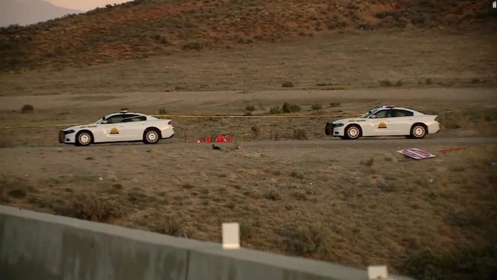 Utah chase: A suspect was captured after a pursuit in a deputy's stolen vehicle