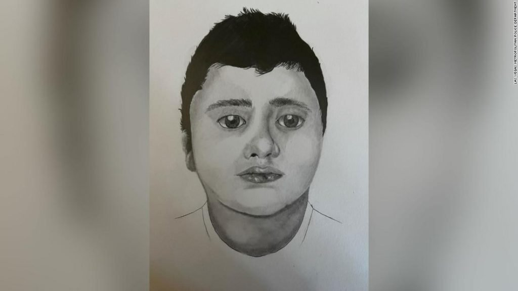 Las Vegas police ask for help identifying the body of a boy found by hikers