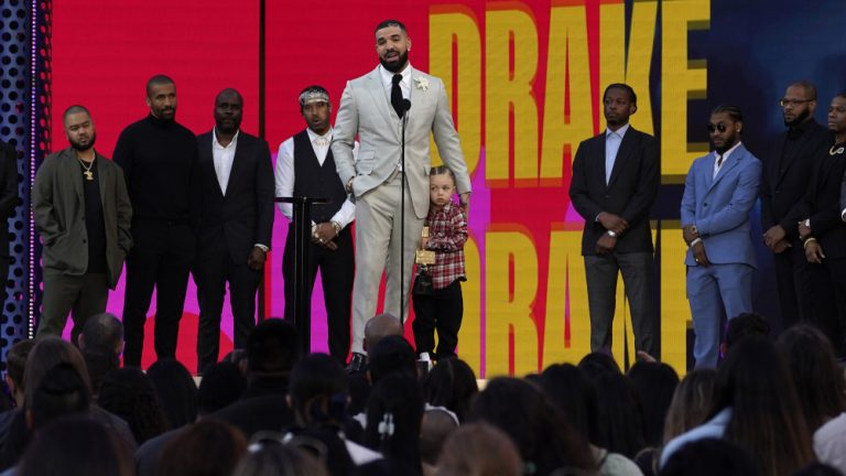 Watch Drake's Son Adonis Join Him Onstage at Billboard Music Awards