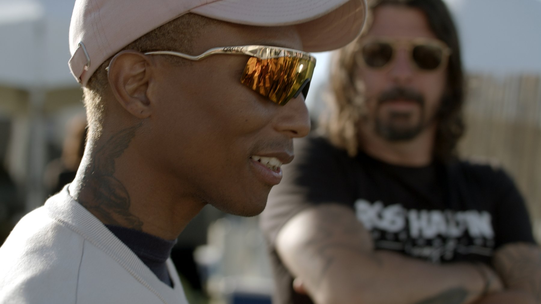 Dave Grohl, Pharrell Talk N.E.R.D. in 'From Cradle to Stage' Clip