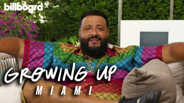 DJ Khaled on 'Growing Up' in Miami: Video