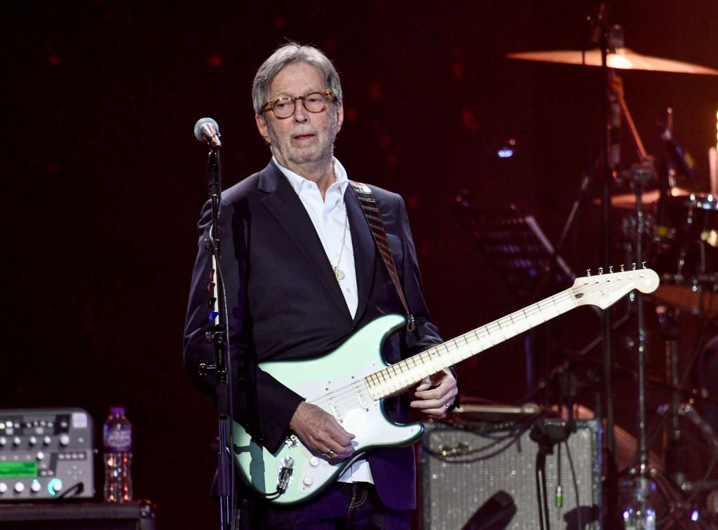 LONDON, ENGLAND - MARCH 03: Eric Clapton performs on stage during Music For The Marsden 2020 at The O2 Arena on March 03, 2020 in London, England. (Photo by Gareth Cattermole/Gareth Cattermole/Getty Images)