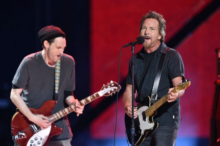 Eddie Vedder Performs 'Corduroy,' 'I Am a Patriot' at Vax Live Concert