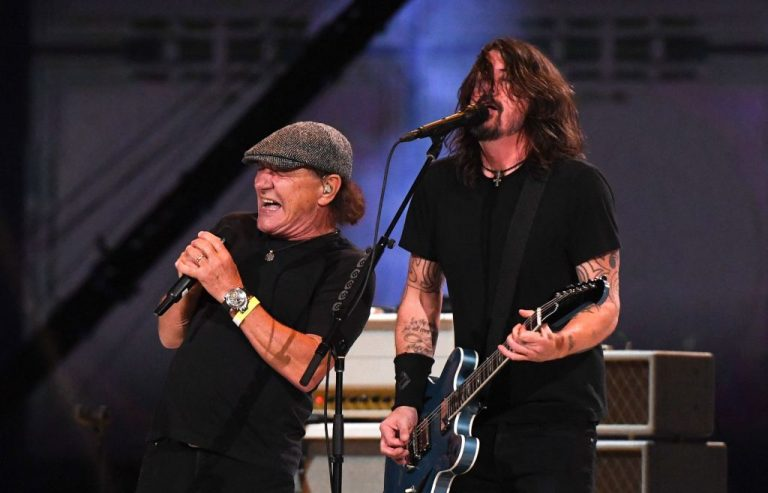 Watch Foo Fighters Perform 'Back in Black' With AC/DC's Brian Johnson